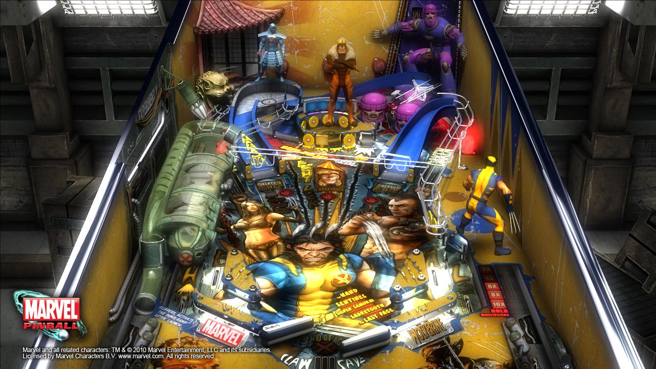 Zen Pinball 2 - Marvel Pinball 13