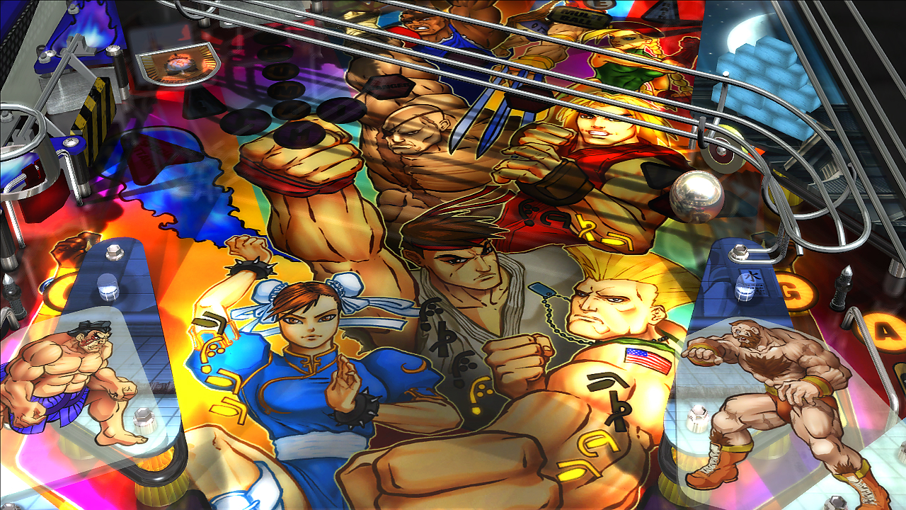Zen Pinball 2 - Super Street Fighter II 02