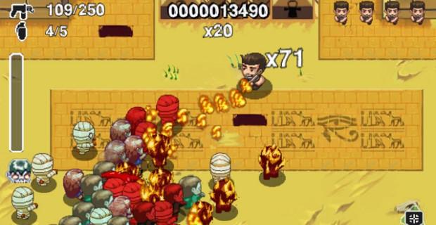 Age of Zombies PSP Mini