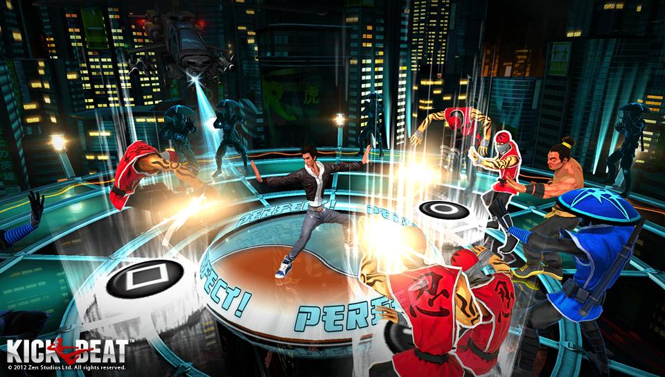 KickBeat PS Vita 04