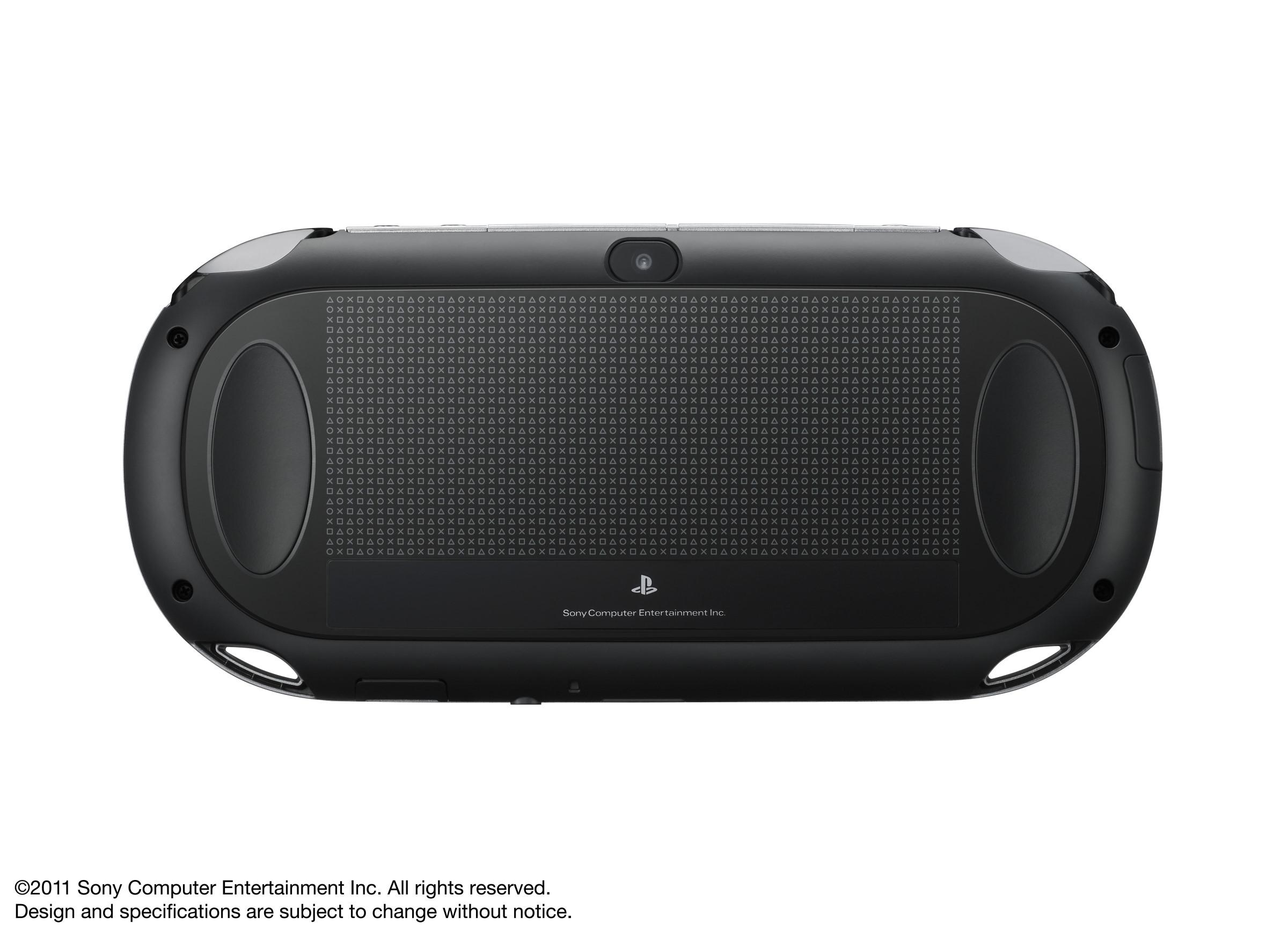 PS Vita - Rear