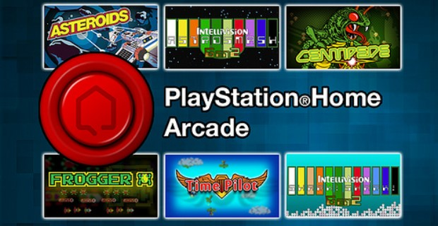 Playstation Home Arcade PS Vita