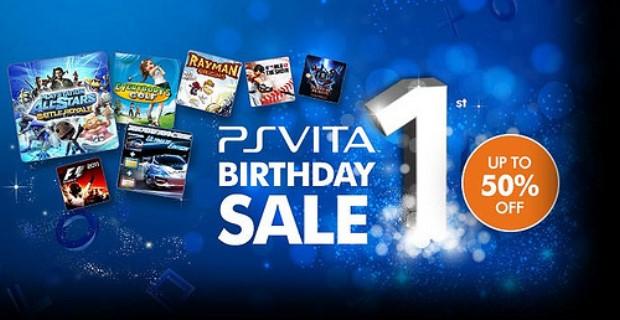 Sony PS Vita First Birthday Sale