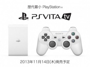 PS Vita TV supports Dual Shock 3 controllers.