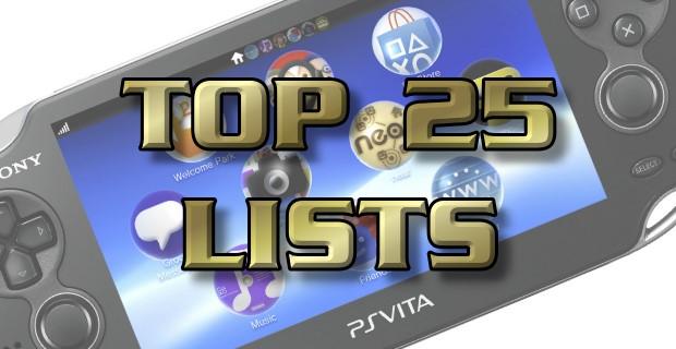 Top 25 Lists