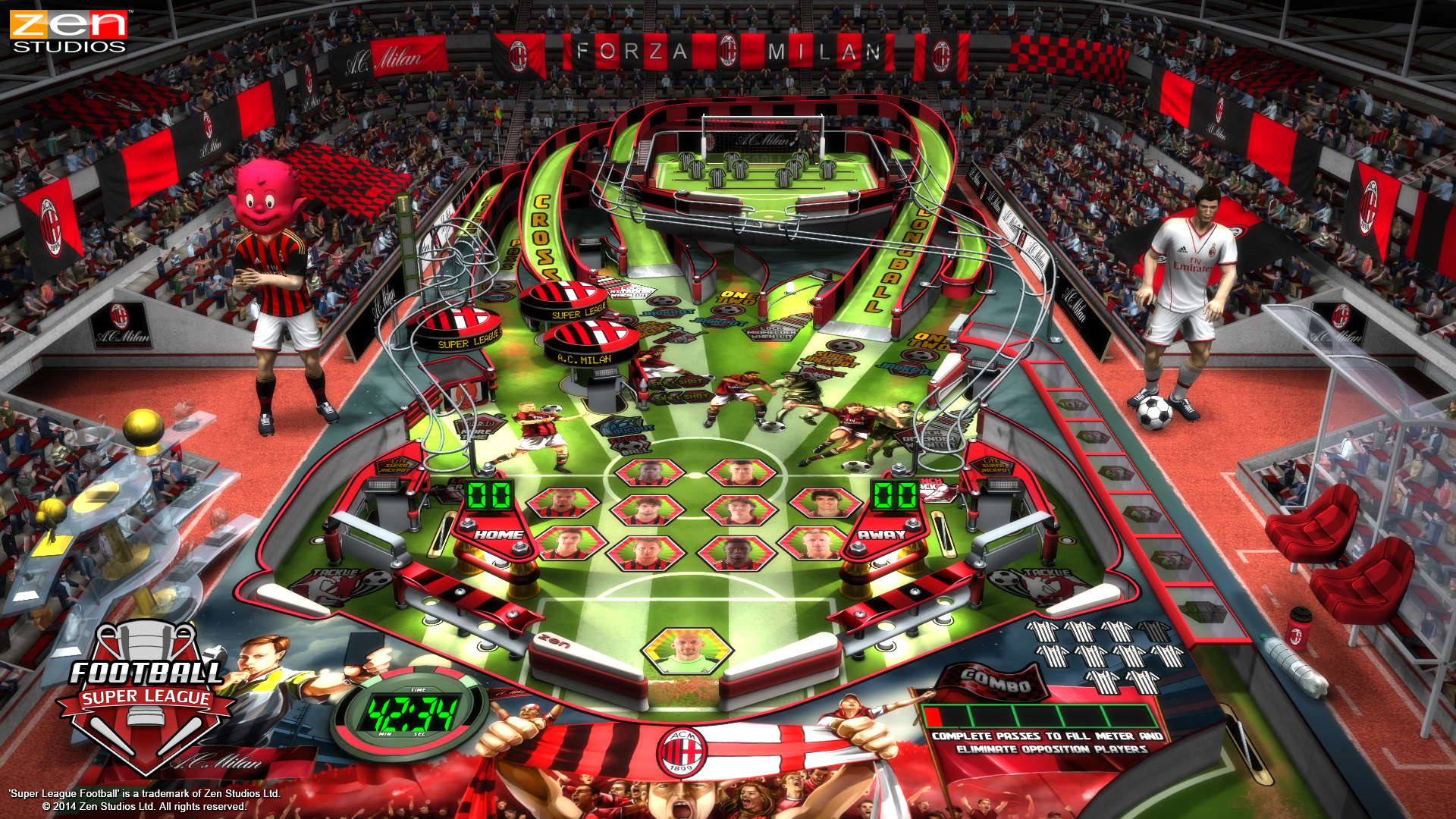 Super League Football PS Vita 07