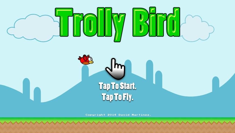 Trolly Bird PlayStation Mobile 01