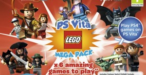 PS Vita LEGO Mega Pack