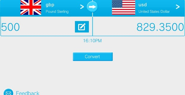 Currency Converter PlayStation Mobile