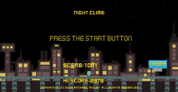 Night Climb PlayStation Mobile