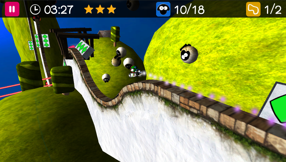 Jaggy Race PlayStation Mobile 19