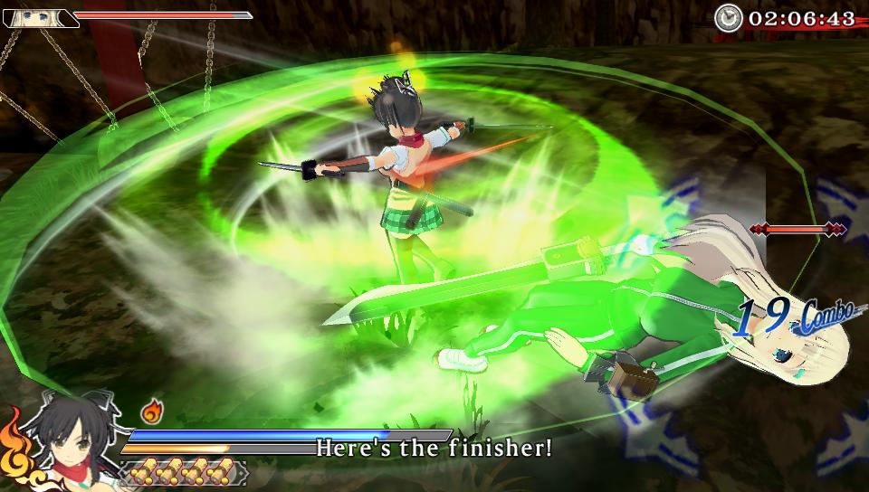 Senran Kagura Shinovi Versus PS Vita 10