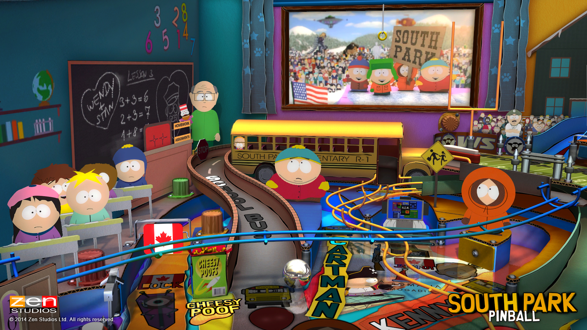 Zen Pinball 2 South Park Pinball PS Vita 08