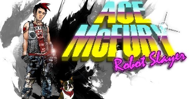 Ace McFury Robot Slayer PlayStation Mobile