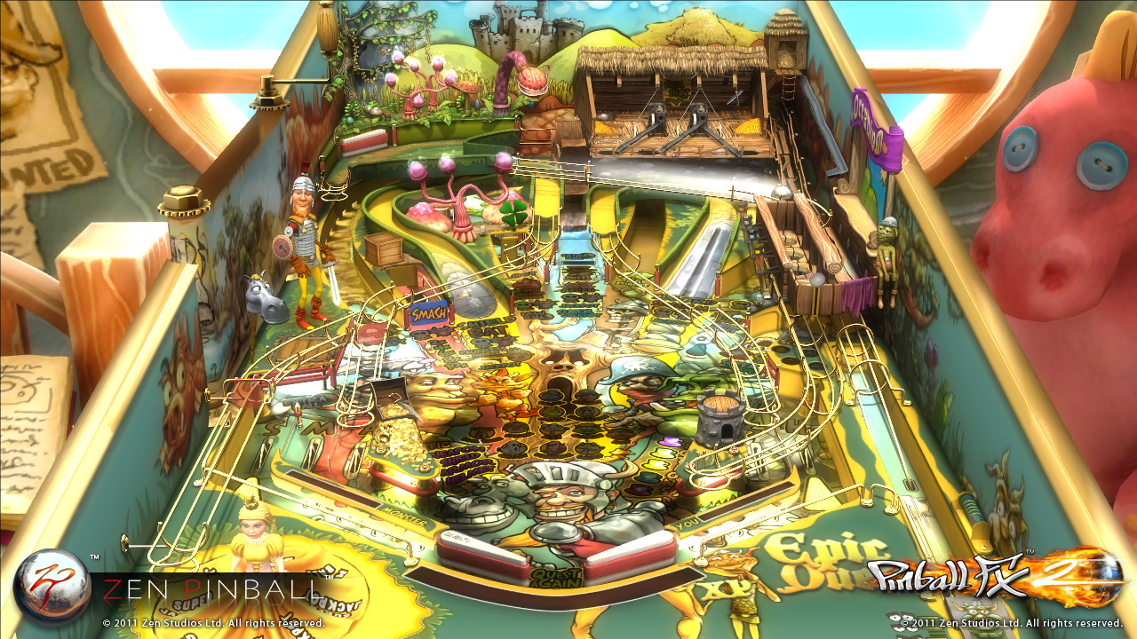 Zen Pinball 2 Epic Quest PS Vita 01