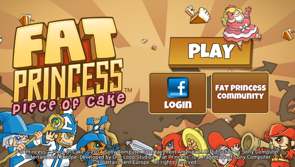 Fat Princess Piece Of Cake PS Vita 01