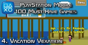 100 Best PlayStation Mobile Games 004 - Vacation Vexation