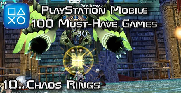 100 Best PlayStation Mobile Games 010 - Chaos Rings