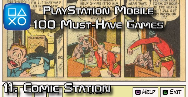 100 Best PlayStation Mobile Games 011 - Comic Station