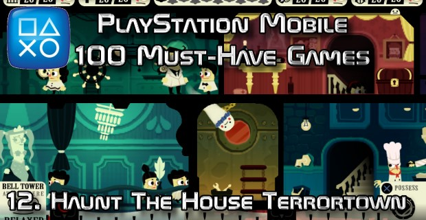 100 Best PlayStation Mobile Games 012 - Haunt The House Terrortown