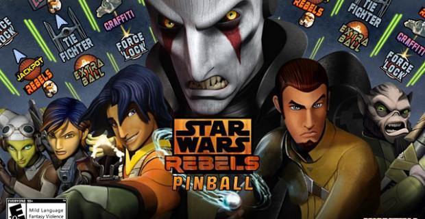 Star Wars Rebels Pinball PS Vita