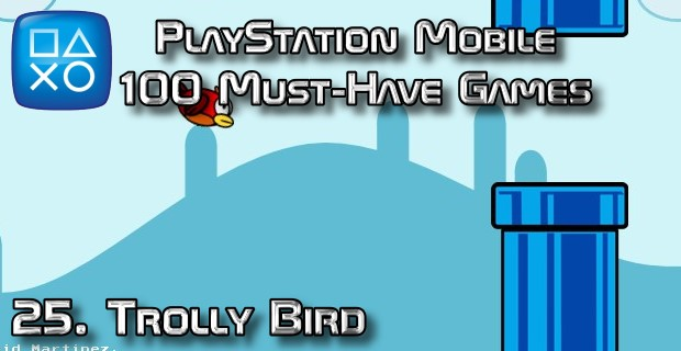 100 Best PlayStation Mobile Games 025 - Trolly Bird