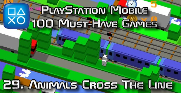 100 Best PlayStation Mobile Games 029 - Animals Cross The Line