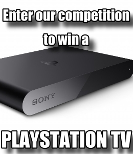 Win a PlayStation TV with Vita Player