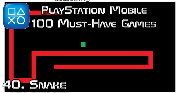 100 Best PlayStation Mobile Games 040 - Snake