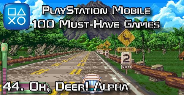 100 Best PlayStation Mobile Games 044 - Oh, Deer! Alpha