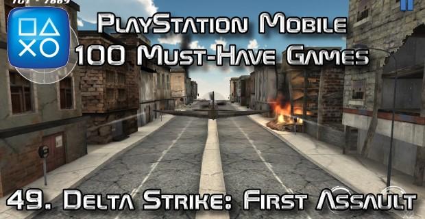 100 Best PlayStation Mobile Games 049 - Delta Strike First Assault