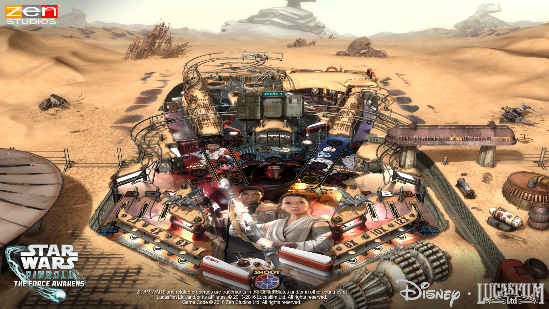 Star Wars Pinball The Force Awakens 1
