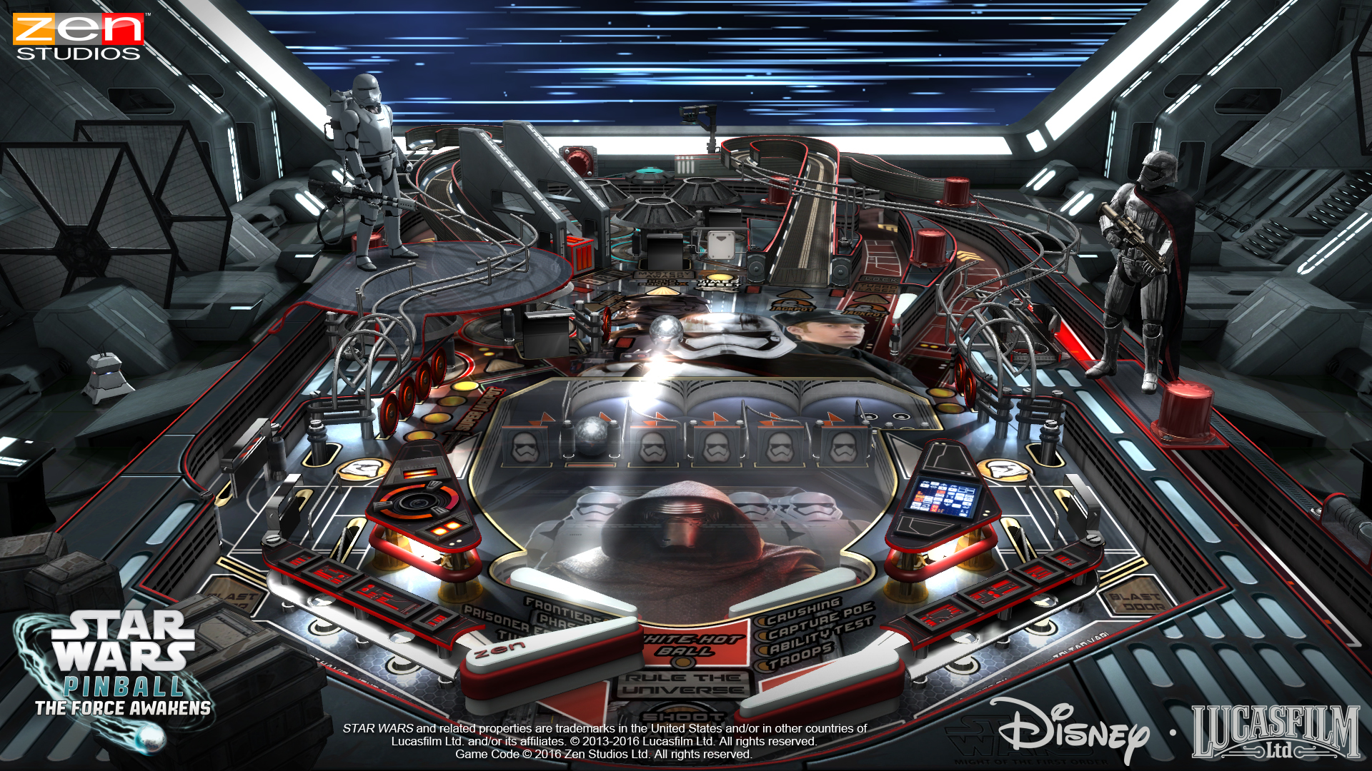 Star Wars Pinball The Force Awakens 2
