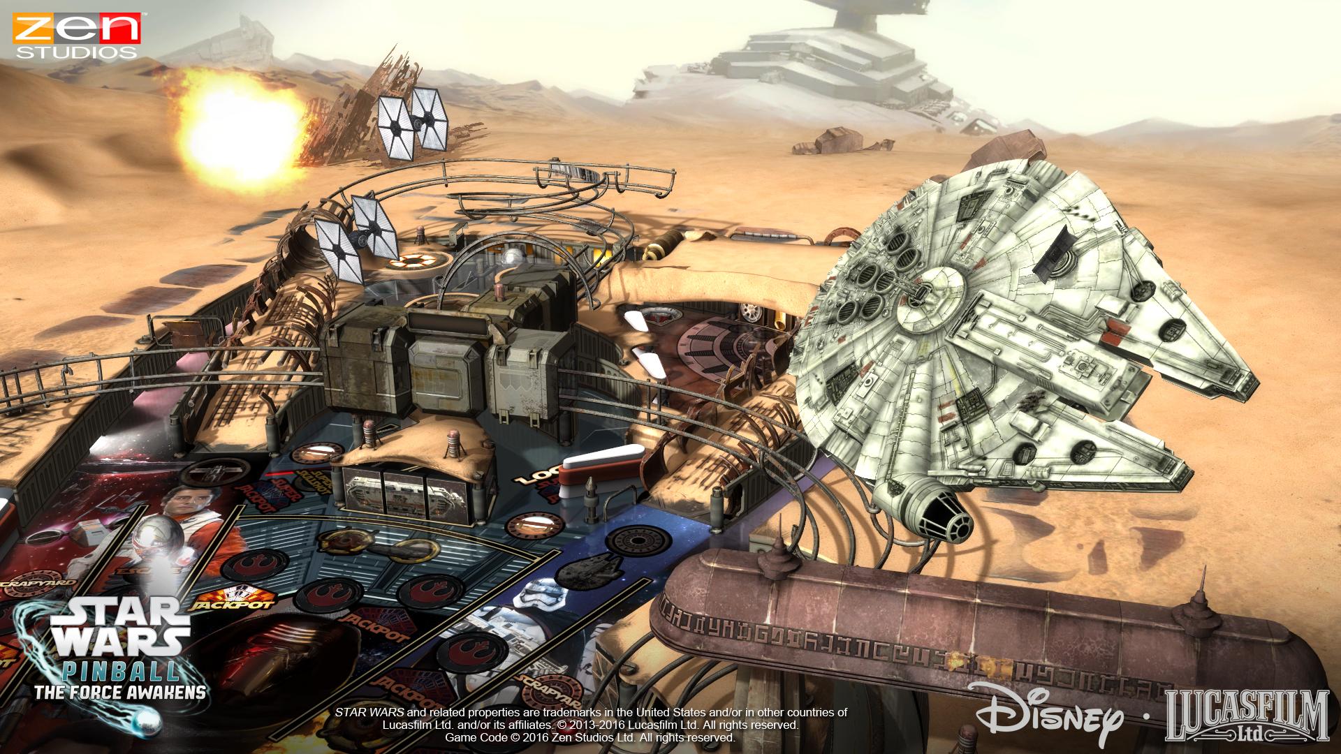 Star Wars Pinball The Force Awakens 3