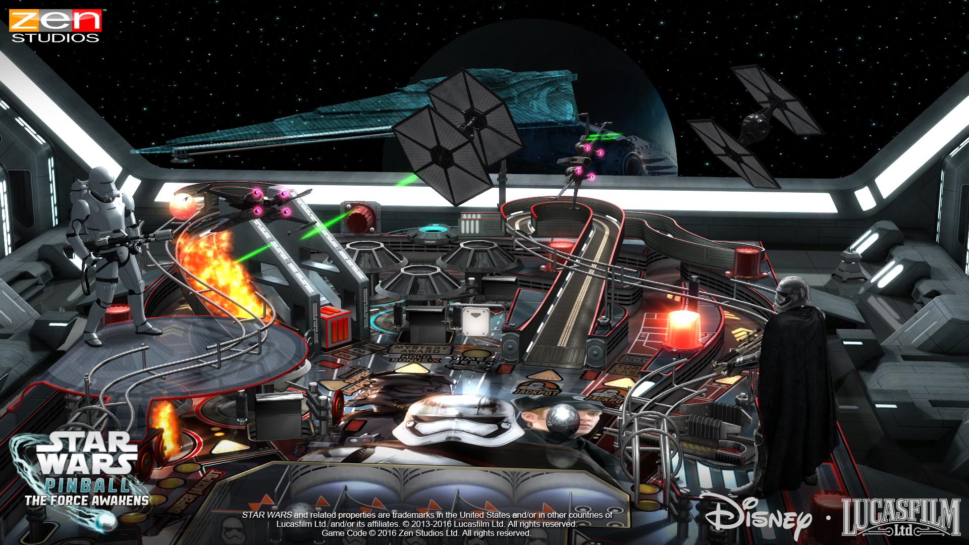 Star Wars Pinball The Force Awakens 4