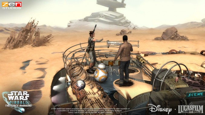 Star Wars Pinball The Force Awakens 5