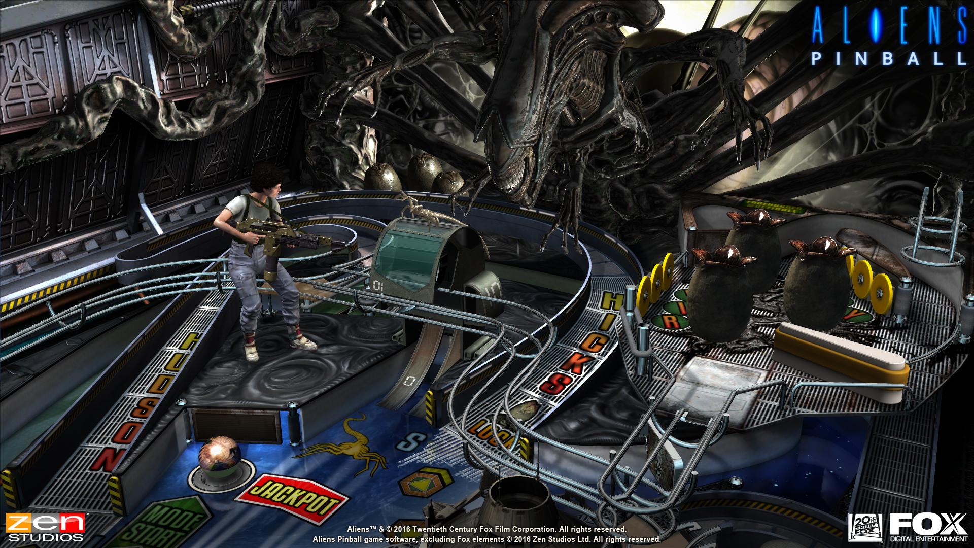 Alien vs Pinball Announcement Screenshot - 2