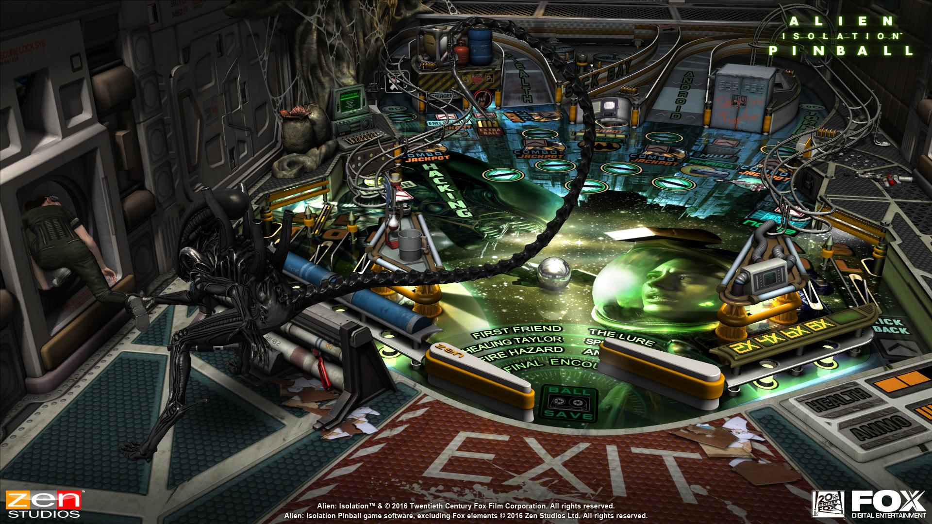 Alien vs Pinball Announcement Screenshot - 4