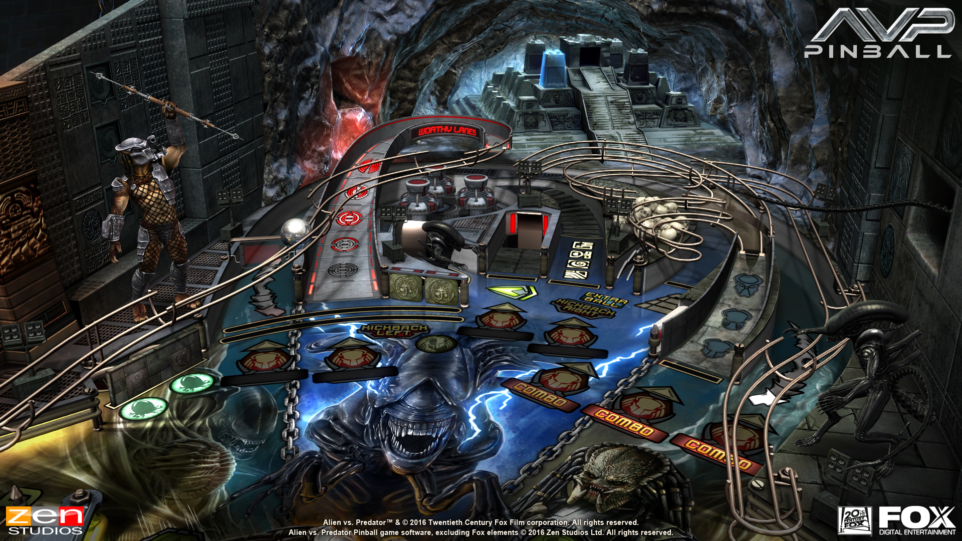 Alien vs Pinball Announcement Screenshot - 6