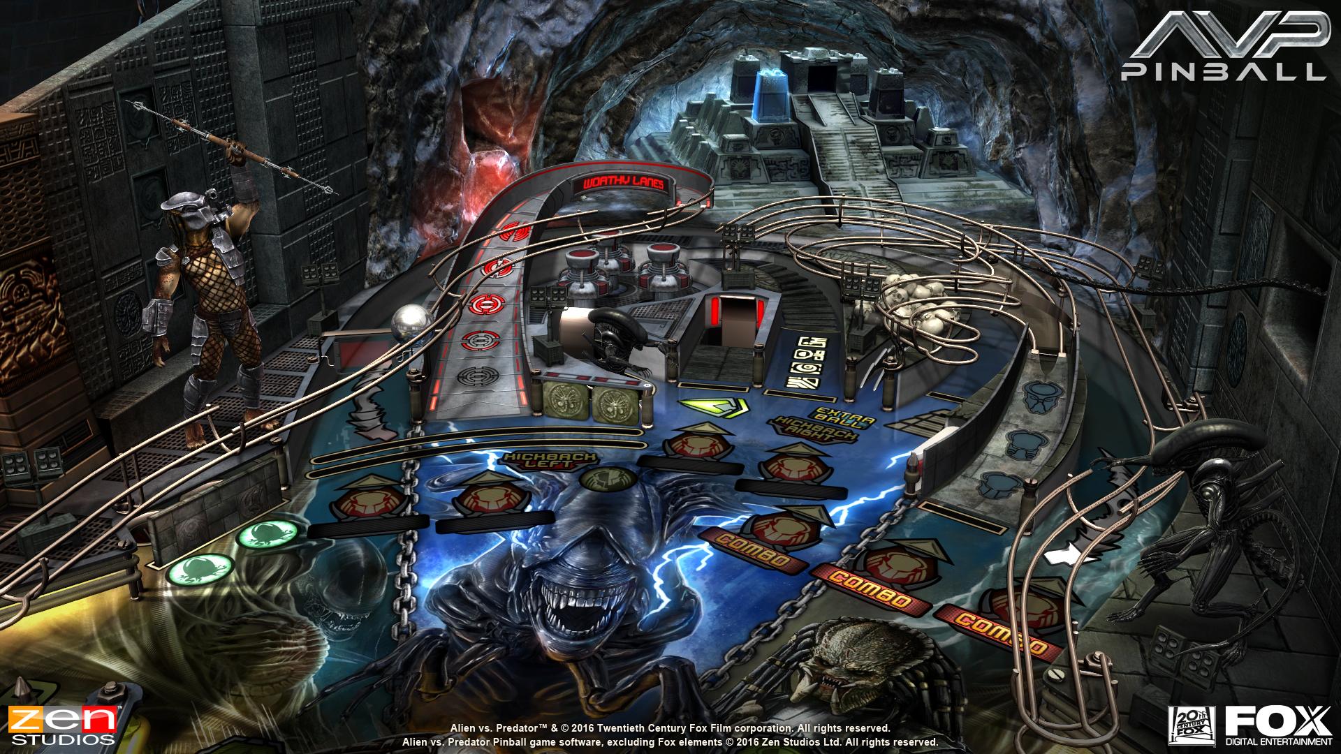Alien vs Pinball Announcement Screenshot - 6
