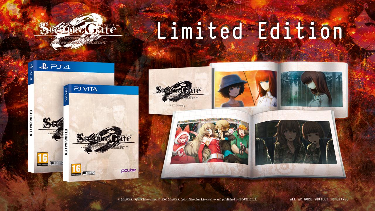 Steins Gate 0 - Limited Edition retail