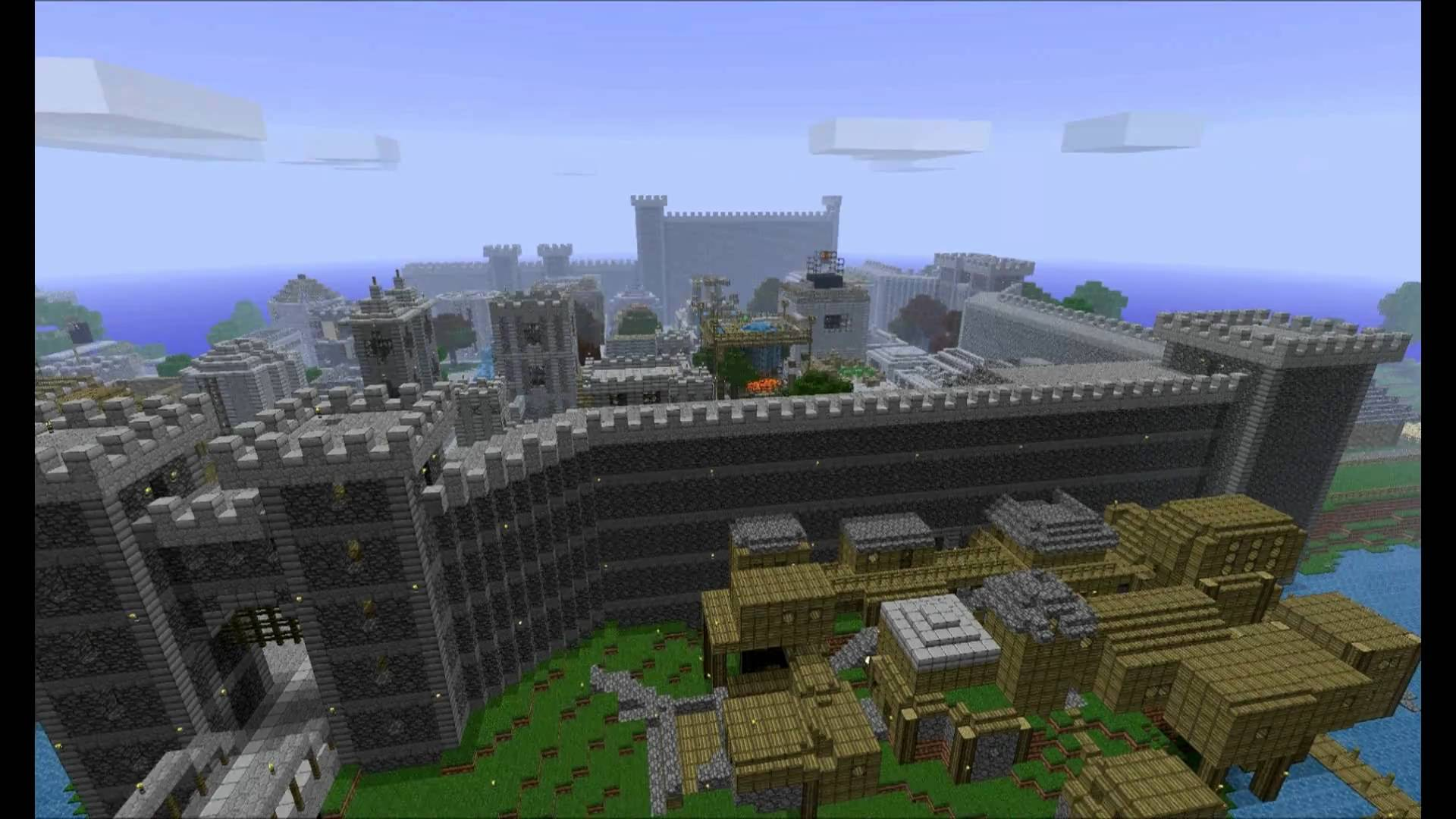 One of many incredible creations within Minecraft, a game that's being used as an educational tool.