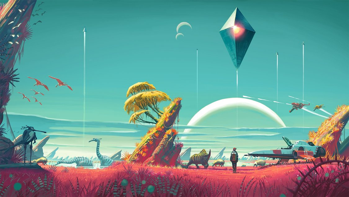 No Man's Sky, a release that aims to blend artistic freedom with exploration and technical prowess.