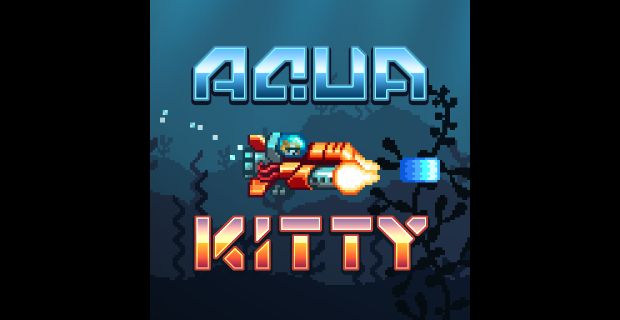 Aqua Kitty Milk Mine Defender Playstation Mobile
