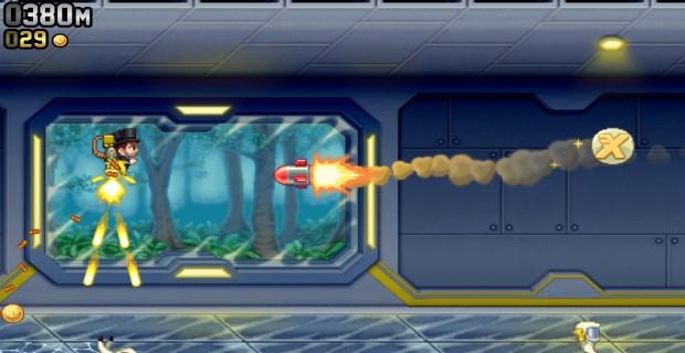 Jetpack Joyride PS Vita