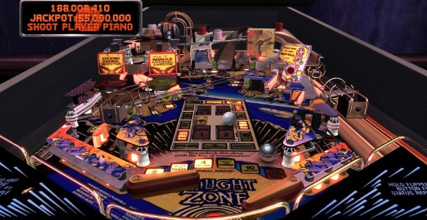 Pinball Arcade Twilight Zone PS Vita