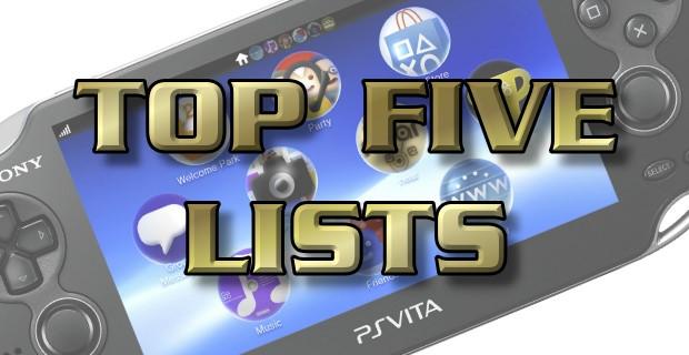 Top Five Lists