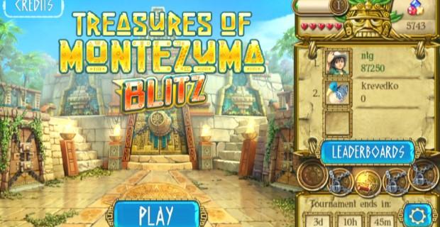 Treasures Of Montezuma Blitz PS Vita