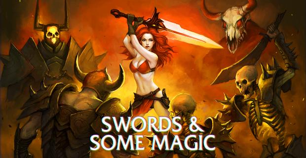 Swords And Some Magic PS Vita