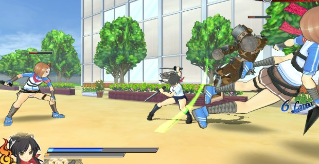 Senran Kagura Shinovi Versus PS Vita
